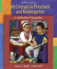 Early Literacy in Preschool and Kindergarten: A Multicultural Perspective (2nd