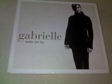 GABRIELLE - WALK ON BY - DIGIPAK UK CD SINGLE