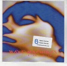 (DL635) Wave Machines, Ill Fit - 2012 DJ CD