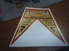 Columbus flag Decal Ball Gum Water Release #82