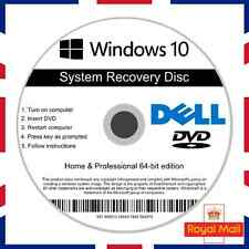 DELL Windows 10 HOME & riparazione professionale di recupero installare il software Boot Disc