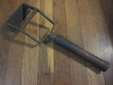 RARE Early Antique NY Iron Scraper Woodworking Timber Frame Old Wood Plane Tool