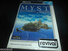 Myst: Masterpiece Edition   pc game  damaged artwork