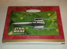 Star Wars Hallmark Keepsake Ornament Naboo Royal Starship