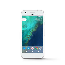 Google Pixel (Latest) - 128GB - Very Silver (Unlocked) with Device Protection