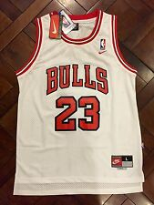 Nike Chicago Bulls Michael Jordan Throwback Jersey Men's LARGE Retro Rare 23