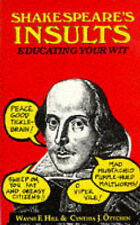 Shakespeare's Insults, By Shakespeare, William,in Used but Acceptable condition