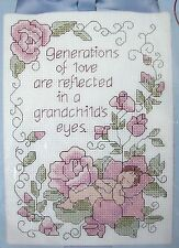 New Dimensions Stitchables Grasse Generations of Love Counted Cross Stitch Kit