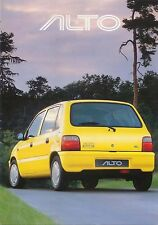 Suzuki Alto 1.0 3-dr & 5-dr 1999-2000 Original UK Sales Brochure Pub. No. 2901