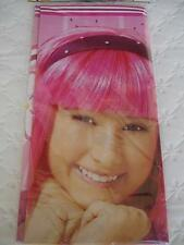 LAZY TOWN Party TABLE COVER Stephanie Birthday Supplies Decoration Girl Pink NEW