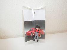 Playmobil Porsche Mechaniker Werbefigur Schlüsselanhänger NEU Key Ring 3911 5991