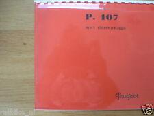 P0101 PEUGEOT---SON DEMONTAGE LA---P.107-MODEL