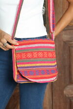 New Thai Hand-Made Cotton Boho Crossbody Purse Shoulder bag Handbag BG90
