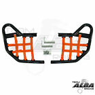 Yamaha Raptor 660 Nerf Bars Alba Racing Pro Elite Black/Orange 203-T1-BO