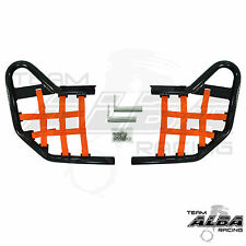 Yamaha Raptor 660 YFM660  Nerf Bars   Alba Racing  Black Orange 203 T1 BO
