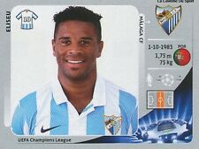 N°217 ELISEU # PORTUGAL MALAGA.CF CHAMPIONS LEAGUE 2013 STICKER PANINI