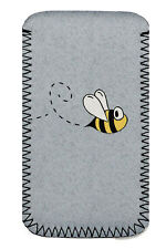 Miele Bumble Bee NEOPRENE Phone Custodia Cover Marsupio Adatto A Samsung Galaxy S4 Mini