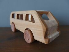 Wooden toy VW CAMPER T2- Vintage style handmade High quality Hobby Collector 3