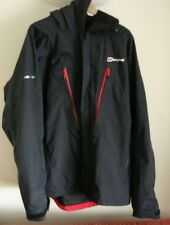 Berghaus Mera Peak IV Black XL  Mens Waterproof Jacket Excellent Condition.