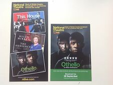 2 x Flyers National Theatre Live Othello Adrian Lester