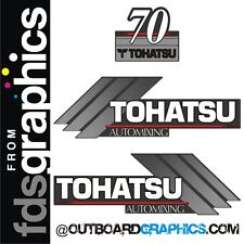 Tohatsu 70 automixing Motor Fuera De Borda decals/sticker Kit