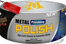 Meguiars Finishing Metal Polish Car Alloy & Chrome Wheels **COMPLETE KIT** Mag