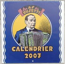 Crumb illustrations calendrier les as du musette 2007 Neuf