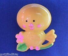 Avon PIN Fragrance Glace CHICKEN LITTLE CHICK 1970s Childs Pal Jewelry ~ EMPTY
