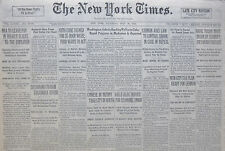 7-1933 WWII July 29 CHINESE IN MUTINY TAKE CITY IN NORTH. COLUMBIA RIVER DAM