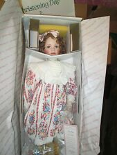 "Hamilton Collection porcelain doll ""Amber"" 28"" *NRFB *COA by artist Laura Cobabe"