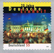 2822 ** BRD 2010, SK aus Rolle , 20 J. Deutsche Einheit