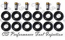 4.0 I6 Jeep Fuel Injector Service Repair Rebuild Kit Orings Filters CSKRP16
