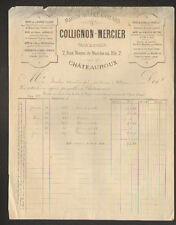 """CHATEAUROUX (36) BRIQUES TUILES """"AUGUET & GUILARD / COLLIGNON & MERCIER"""" 1880"""