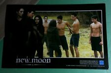 TWILIGHT NEW MOON MOVIE STILL BELLA CONFRONTING WOLFPACK LOBBY CARD POSTER