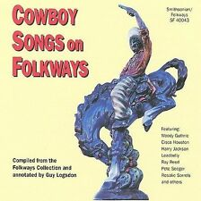 Cowboy Songs by Various Artists (CD, Sep-1993, Smithsonian Folkways)(cd6720)