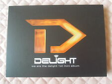 Delight 1st Mini Album Mega-Yak Autographed PROMO CD KPOP hip-hop Block B P.O