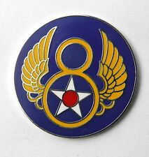 USAF UNITED STATES 8TH AIR FORCE LARGE PIN BADGE 1.5 INCHES