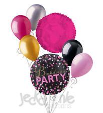 7 pc Bachelorette Sparkle & Sassy Balloon Bouquet Party Decoration Bridal Shower