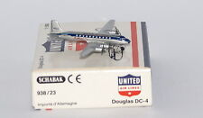 Schabak Douglas DC-4 United Airlines in 1:600 scale