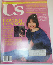 US Magazine John Lennon & May Pang July 1983 091014R