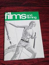 FILMS AND FILMING - UK MOVIE MAGAZINE - MAY 1974 - MICHAEL YORK -VERONICA LAKE