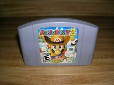 Mario Party 2 (Nintendo 64, 2000) Adult Owned N64 Fast Shipping