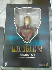 Hot Toys htb 08 iron man 2 mark vi 6 buste 1/4th bib mint bon marché