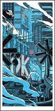 "BLADE RUNNER ""TEARS IN THE RAIN"" silkscreen print by Tim Doyle Nakatomi Artist"
