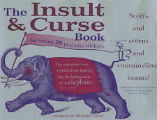 "The Insult and Curse Book Lovric, Michelle ""AS NEW"" Book"