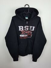 VTG RETRO MENS BLACK USA COLLEGE CHAMPION ATHLETIC SPORTS ZIP-UP TRACKSUIT TOP M