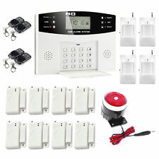 BIG SALE 108 Zones Wireless LCD GSM Home Burglar Security Alarm System Detector