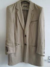 Emporio Armani Men's Medium Beige Rayon Jacket/Blazer - PERFECT CONDITION!