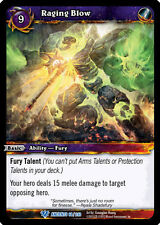 WOW WARCRAFT TCG WAR OF THE ANCIENTS : RAGING BLOW X 3