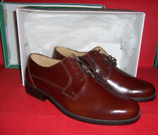 MENS CLARKS ALL LEATHER LACE UP SHOES UK 9 43 LEATHER SOLES NEW